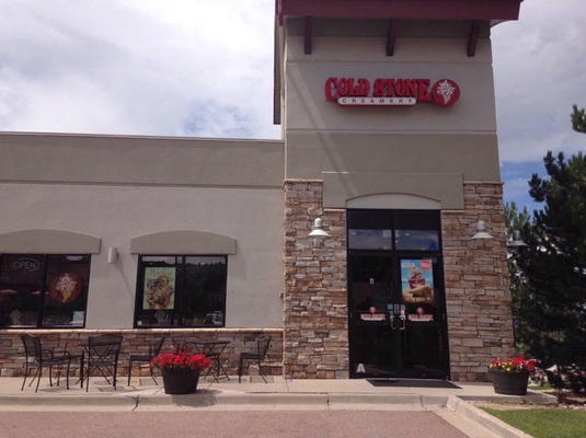High Volume Cold Stone Creamery Castle Rock Co The Plaza